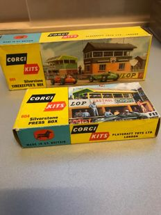 Corgi Toys - Scale unknown - 2x Corgi Kits no. 604 and 605