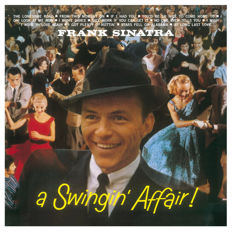 Lots Of 4 Frank Sinatra all On 180 Grams Vinyl, A Swingin' Affair, Come Swing With Me!, Nice 'N' Easy, I Remember Tommy