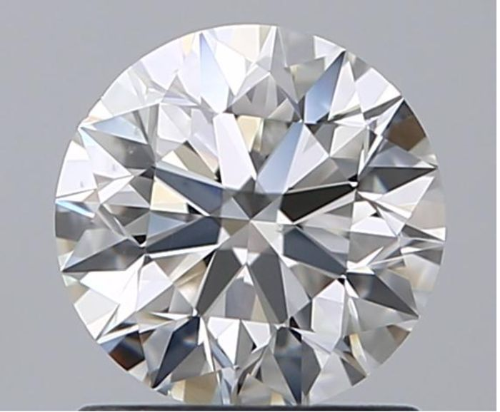 Round Brilliant 0.90 ct EVS2 GIA- original image -10x #2646-Best online Price-No Black Inclusion