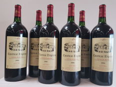 2006 Chateau Eyquem - Côtes de Bourg - Propriety of Bayle Carreau - 6 Magnums