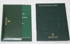 Rolex - Submariner Booklets Credit Card New Very Nice - 4119209.34 - Men - 2000-2010