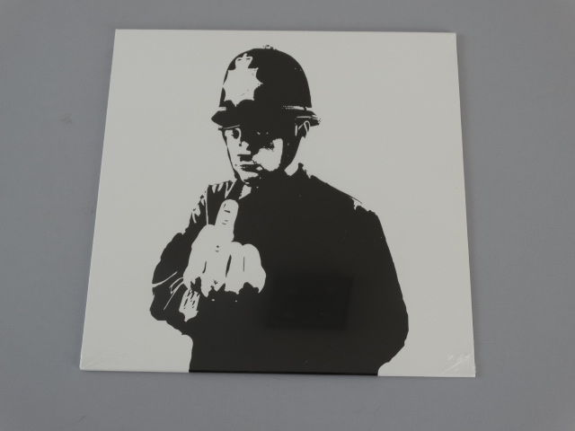 Banksy - Rude Copper