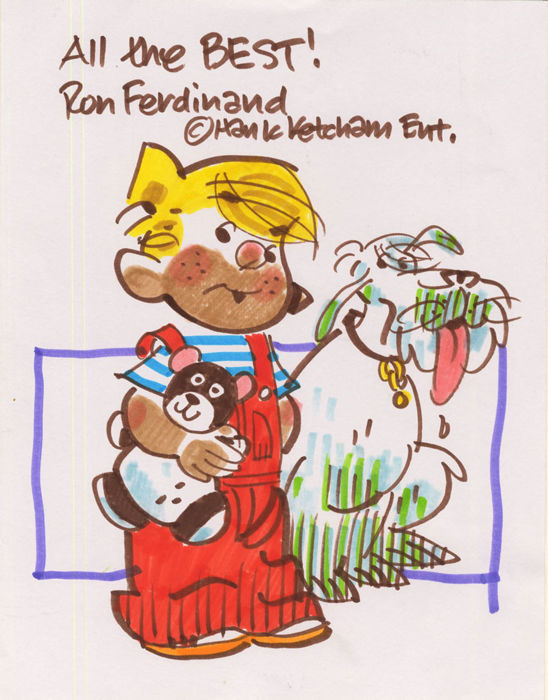 Ron Ferdinand Original Artwork - Dennis the Menace