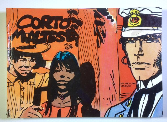 Hugo Pratt - Corto Maltese - hardcover numbered volume - 1974