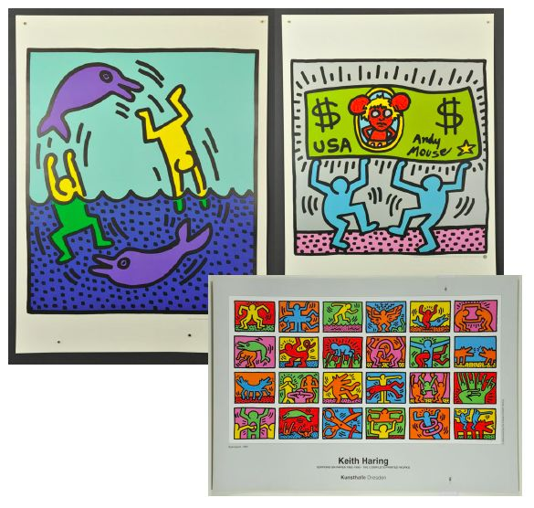 Keith Haring - Exhibtion Posters