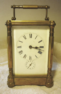 Carriage clock, circa 1850