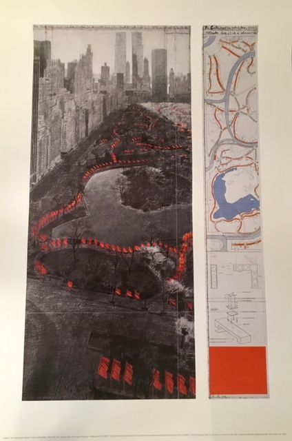 Christo and Jeanne-Claude  - 2 Project Posters