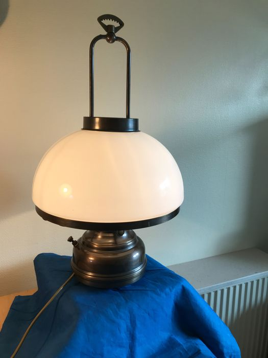 dimmer table lamp cream attractive brass table lamp with dimmer and white glass shade 6540 65