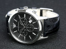 Armani - Renato Multifunction Chronograph - AR2447 - Heren - 2018 - New