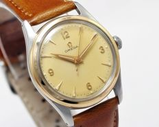Omega Gold Bezel Manual Winding Men's Vintage Wrist Watch - Reference 2647-2 - circa 1950s