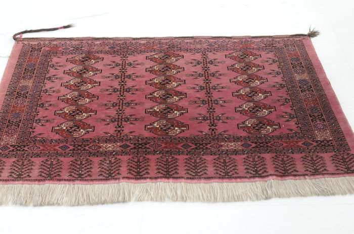 "Turkmen ""Taschenfront"", antique, 154 x 100 cm"