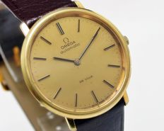 Omega DE VILLE Gold Plated Automatic Men's Vintage Wrist Watch - ST 151.0039 - year 1972