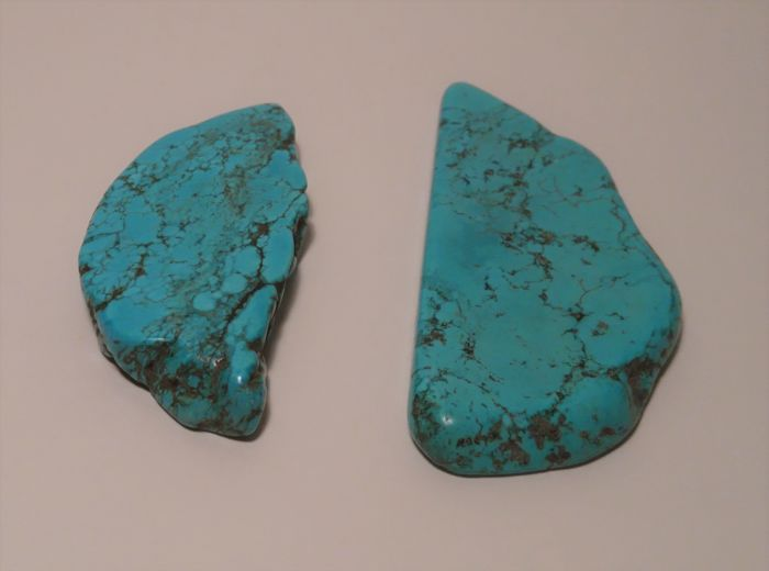 Polished Turquoise lot - 88.16 gr - 440.8cts