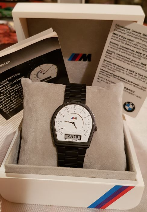 BMW wath/box - Watch for men - Made in Switzerland - 1979