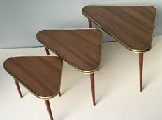 Producer unknown - Vintage set of nesting tables