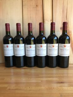 2009 Château Terte Daugay, Saint-Emilion Grand Cru Classé - 6 bottles 75CL