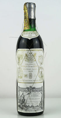 1925 Rioja Marques de Riscal Reserva - 1 bottle