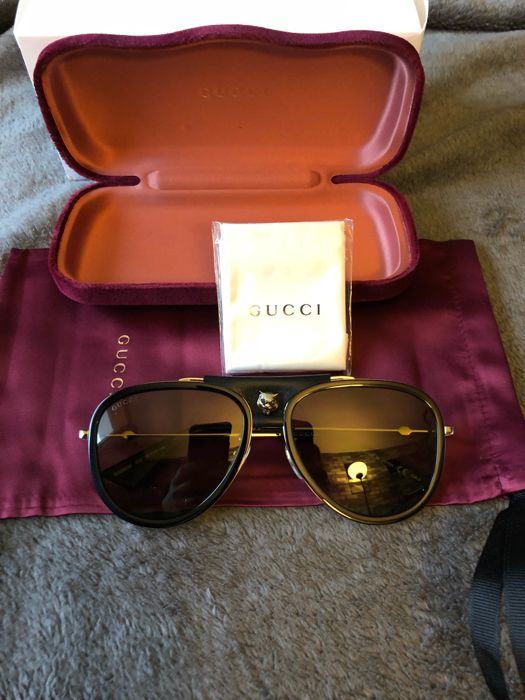 be613f85f5 Gucci aviator sunglasses