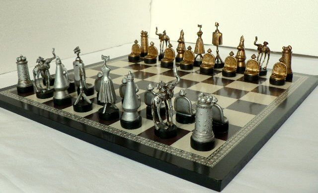 Surrealist chess - Salvador Dalí