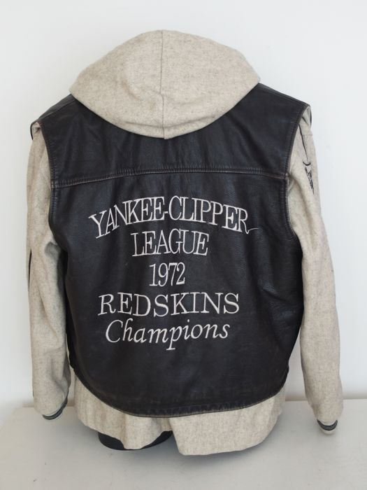 promo code 410d8 5d11c Redskins - Leather jacket - Catawiki
