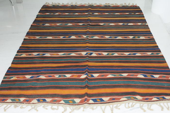 Kilim, Caucasus, antique, approx. 332 x 154 cm