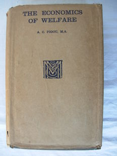Pigou - The economics of welfare - 1929