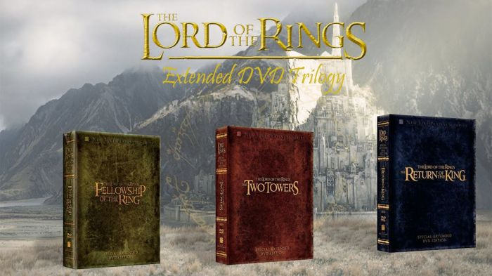 Lord of the Rings Extended Trilogy