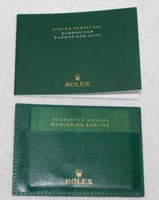 Rolex -  New Submariner 2015 Booklets and Credit Card  - 4119209.275 - Men - 2011-present
