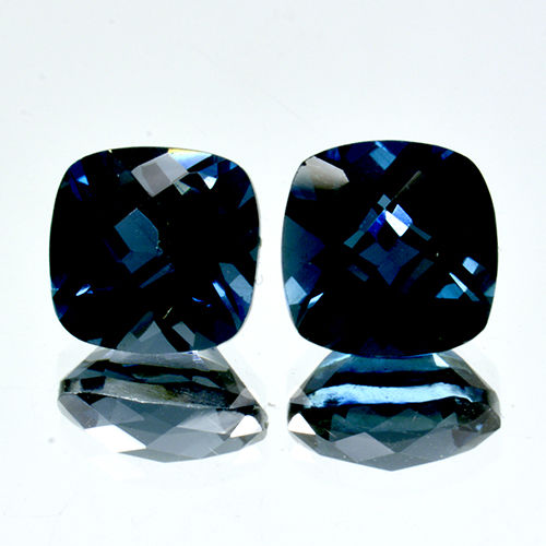 2 London Blue Topaz - 3.73 ct. - No Reserve Price