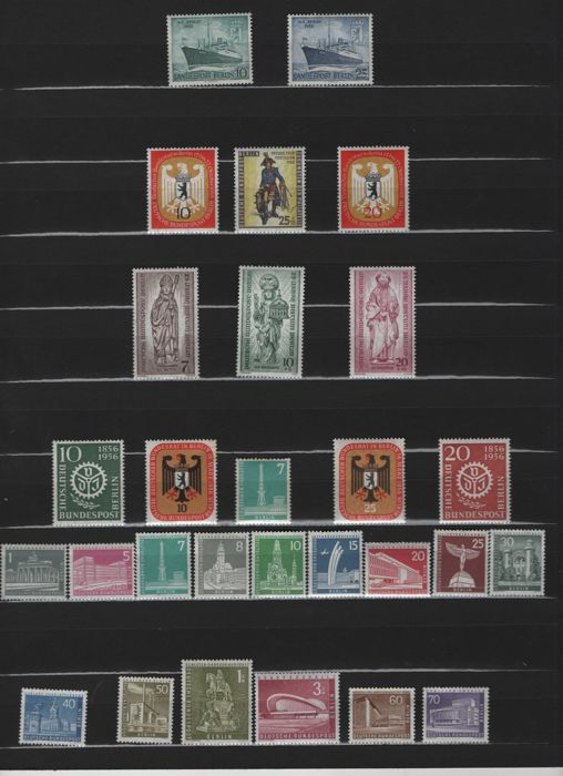 Germany Berlin - 1955 - 1976- collection in ring binder