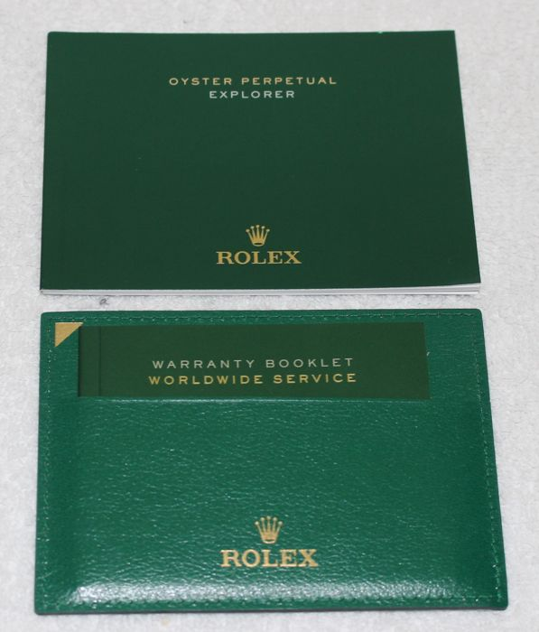 Rolex -  Explorer 2015 Booklets and Credit Card New  - 4365545.275 - Heren - 2011-heden