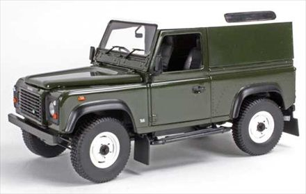 Universal hobbies - Scale 1/18 - Land Rover Defender 90 Hard top
