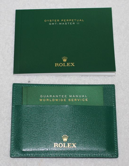 Rolex - GMT-MASTER II 2016 Booklets and Credit Card New  - 4119209.05 - Heren - 2011-heden