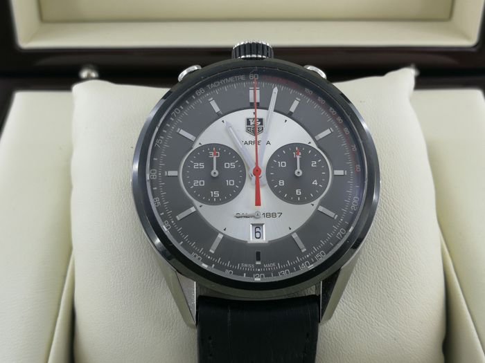 TAG Heuer - Bullhead - Carrera - Jack Heuer Edition- 50th Anniversary - Ref. CAR2C11-0 for sale
