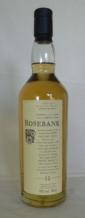 Flora & Fauna - Rosebank 12 years old - 70cl - 43%