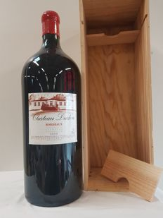 Chateau Dudon 2005 - Bordeaux - 1 Imperial (600 cl) in Wooden Box