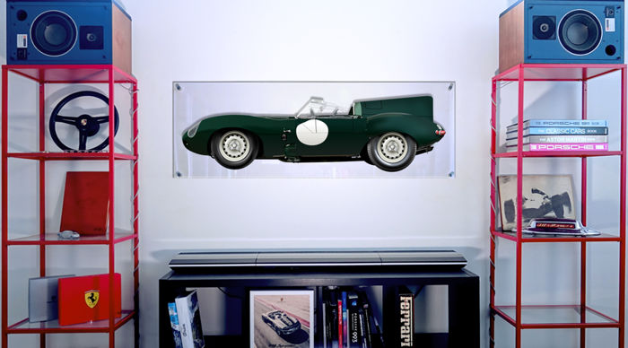 TL- Halmo Collection Jaguar Type D Plexiglass Panel