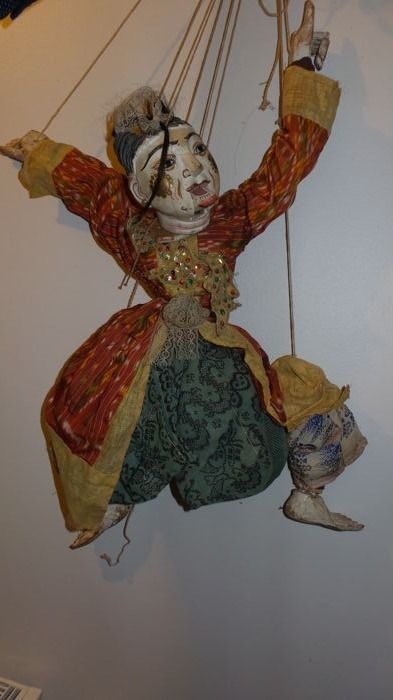 Very rare puppet: Royal Page Boy
