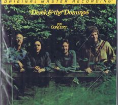 Audiophile 2LP-set: DEREK AND THE DOMINOS In Concert (MFSL 2-239) Original Master Recording | Mobile Fidelity Sound Lab / USA 1996 gatefold numbered LP double-album