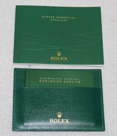 Rolex -  New Datejust 2014 Booklets and Credit Card  - 4119209.05 - Unisex - 2011-present