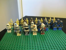 30 Lego figures Star Wars