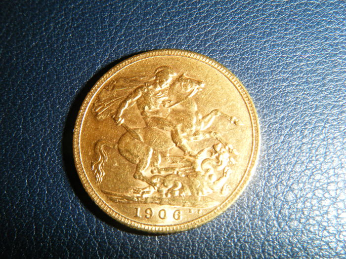 United Kingdom - Sovereign 1906 - Edward VII - gold
