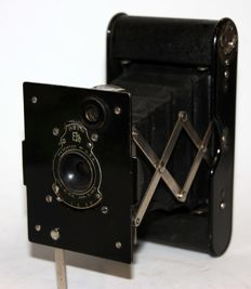 KODAK AUTOGRAPHIC VEST POKET 1915 - DESIGNED FOR THE POCKETS OF MILITARY TRELLIS