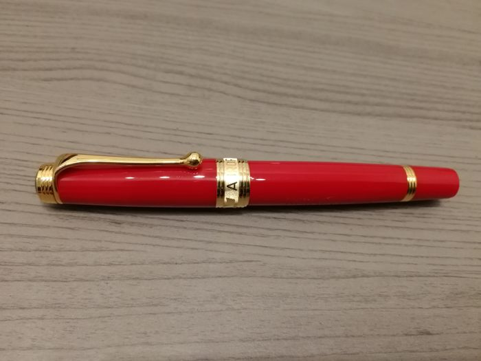 Aurora Tricolore Italian flag red fountain pen limited edition