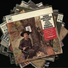 Lot of ten (10) Marty Robbins albums including three high-end Bear Family releases in MINT and some original UK pressings