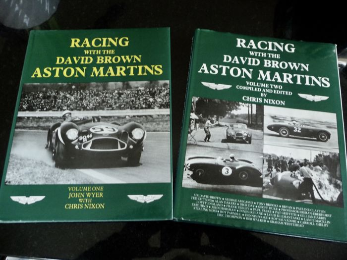 Racing with the David Brown Aston Martins volume one & two