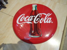 Coca Cola metal sign from 2003