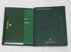 Rolex - Datejust II Booklets and Credit Card New Very Nice - 4119209.34 - Men - 2000-2010