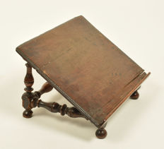 Oak bible stand, late 18th century