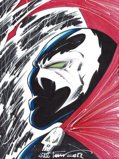 SPAWN - Original Drawing - Will Torres